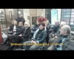 Storia dell'arte Liceo Respighi 2015
