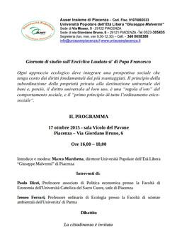 Enciclica di Papa Francesco