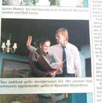 """Hjälp Staaten Betaler"" - Theaterstück Rolle: Frau Jenkins"
