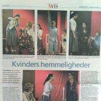 """8 Frauen"" Theaterstück - Det Lille Teater Rolle: Susan"