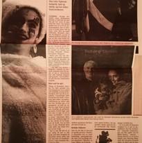 Artikel in der Flensborg Avis Zeitung (dänisch)