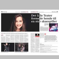 Zeitungsartikel Interview 2020