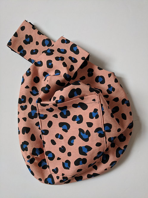Leopard WIP Knot Bag