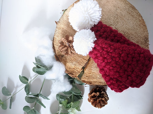 Christmas Bottle Hat Crochet Pattern