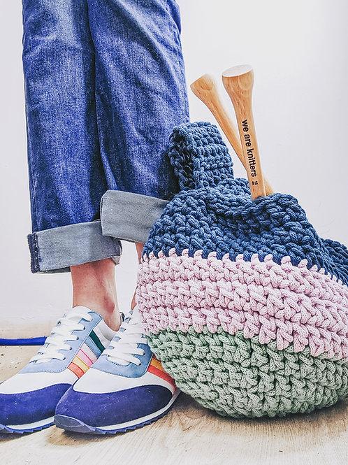 Crochet WIP Knot Bag Pattern