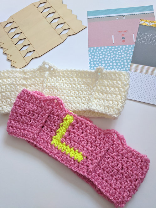 Christmas Crochet Cracker Hat Pattern