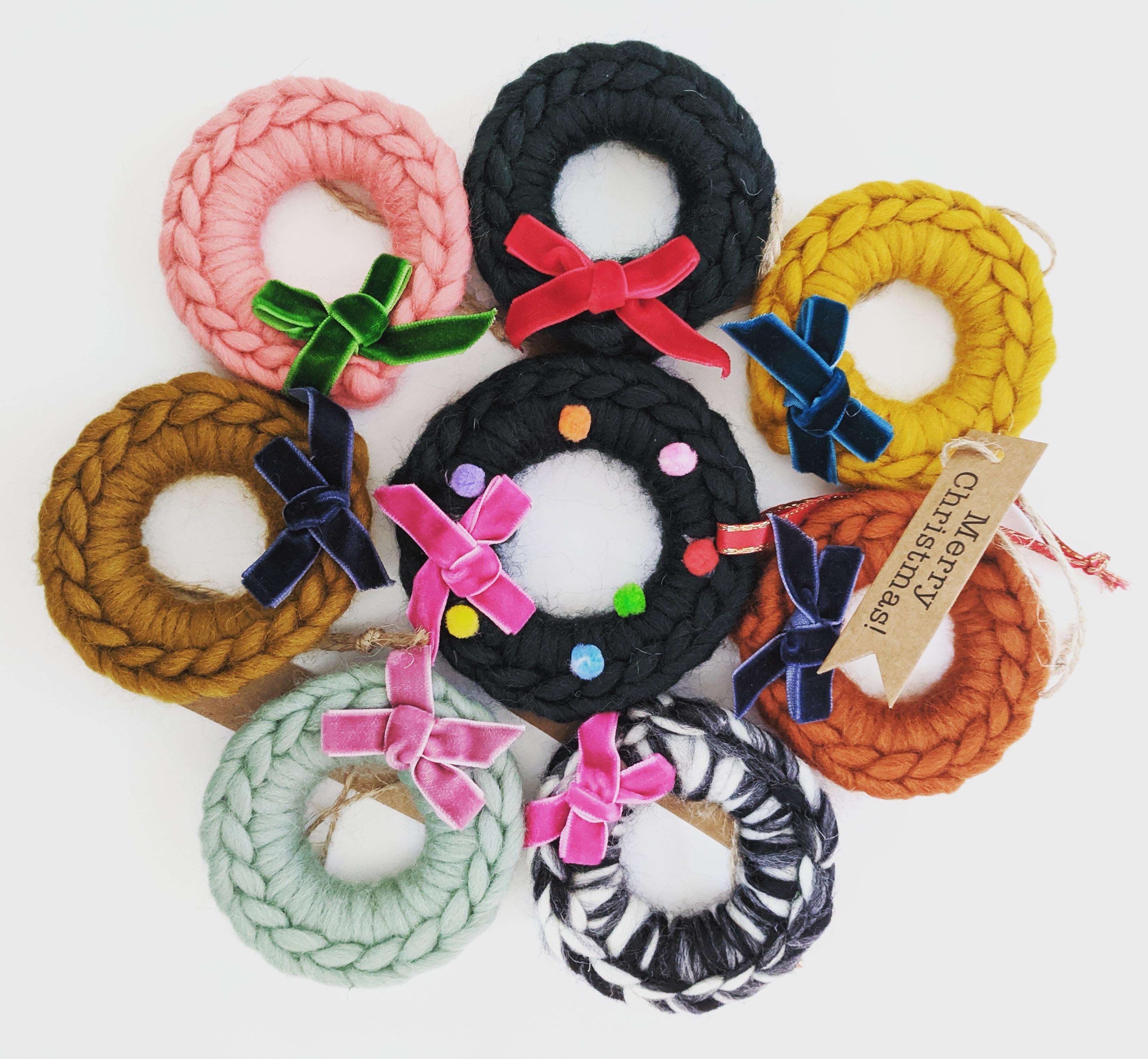 Christmas Crochet- Wreath Dec