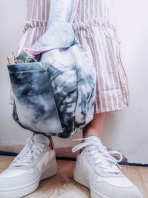 Tie Dye WIP Knot Bag