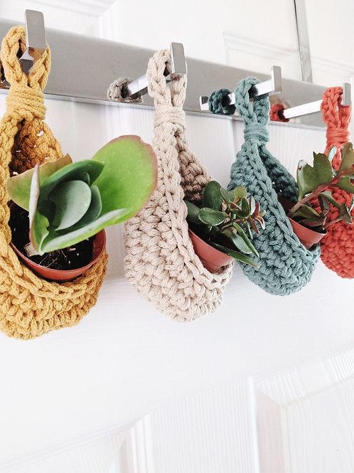 Mini Crochet Storage Holders