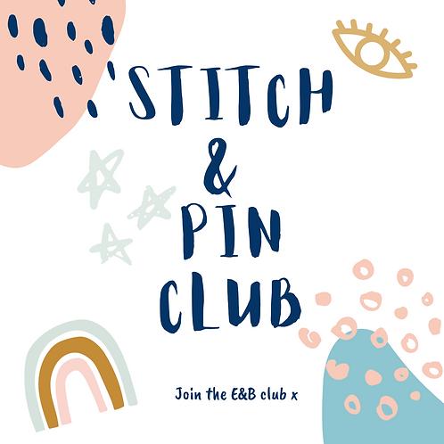 Stitch & Pin Club- Pre-Order (Next Box due December 2020)