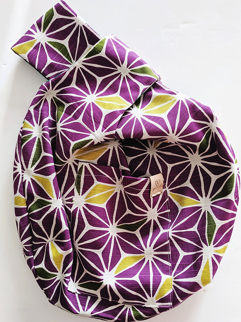 Purple WIP Knot Bag