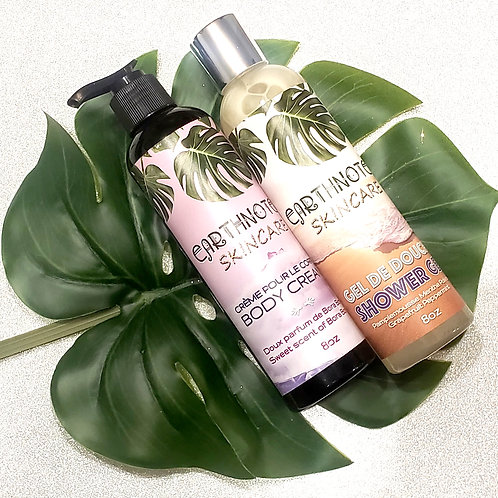 Shower Gel Body Cream Duo