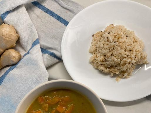 Ricetta indiana di riso basmati speziato allo yogurt e latte di mandorla