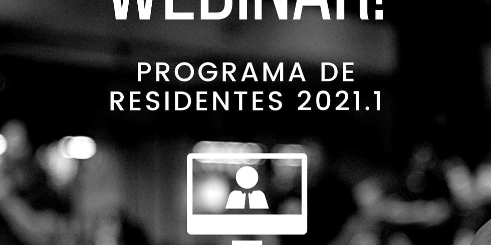 Community Live: Programa de Residentes 2021.1