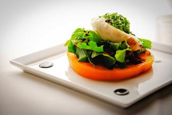 Burrata Heirloom Tomatoes