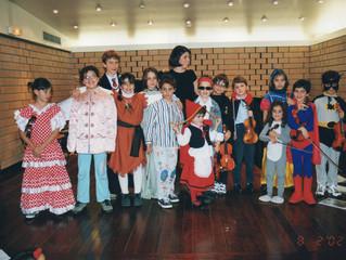 Audição de Carnaval na EMNSC em 2002