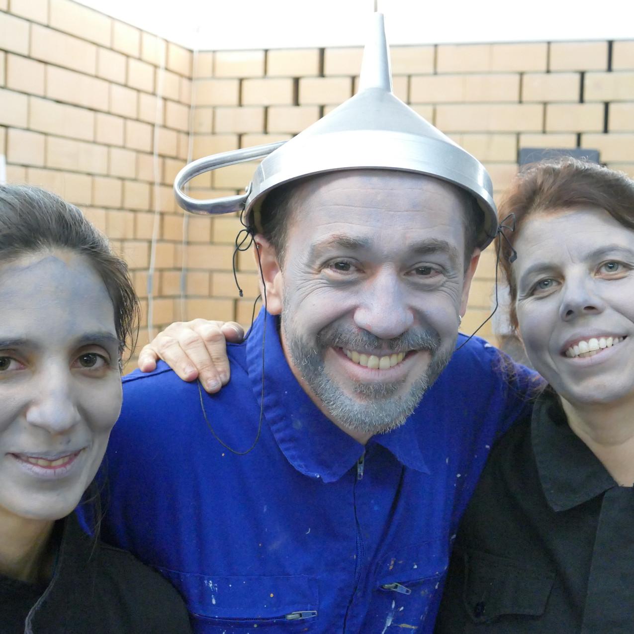 Carolina Gaspar, Luís Santos e Marilyn Brito Teatrinho Musical | A Fábrica