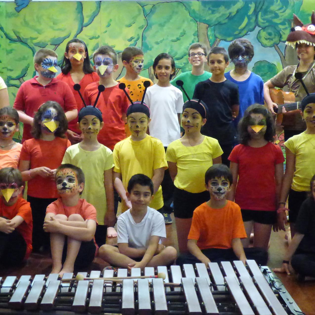Teatrinho Musical | atores