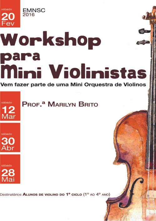 Workshop mini violinistas