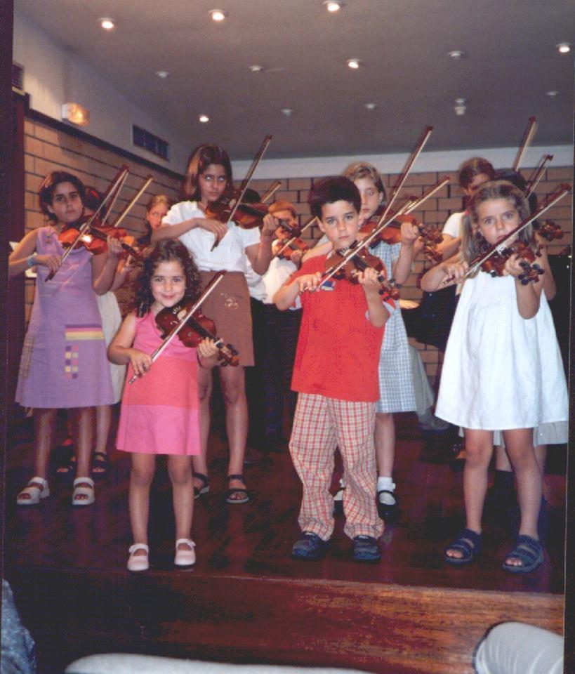 Audição de Violino e MiniViolinos