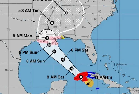 Hurricane Ida Storm Readiness.