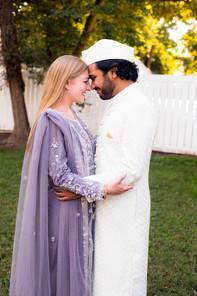 Iqbal & Kellie Khan Wedding Portraits Si
