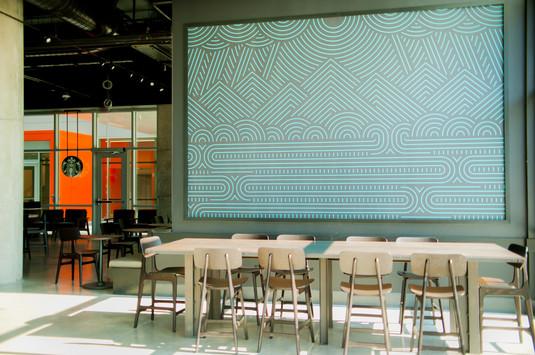 Clemson Douthit Hills East Starbucks Arc