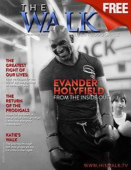 Evander Holyfield Walk Magazine
