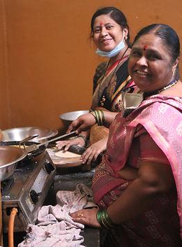 Preparing Madhukari Prasad