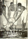 Padmatai performing purnahuti