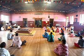 Devotees at Shri Sannidhi Ashram