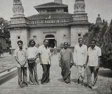 Vidyadharatheertha Guruji with Shri Dattaswarupi Padmatai