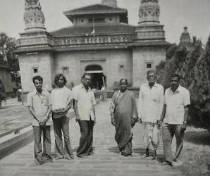 Vidyadharatheertha Guruji with Padmatai