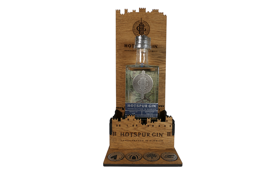 Hotspur Gin Display Stand
