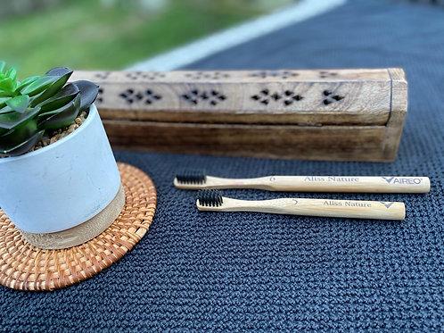 Brosse à dents en bambou - Aliss Nature