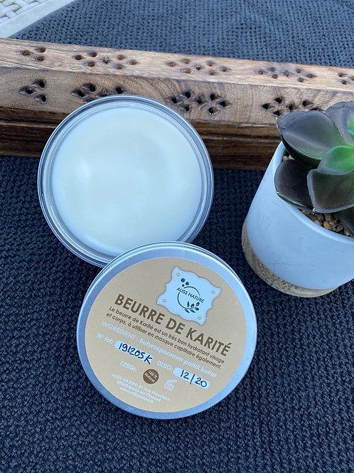beurre de karité naturel et bio - Aliss Nature - boutique en ligne artisanale