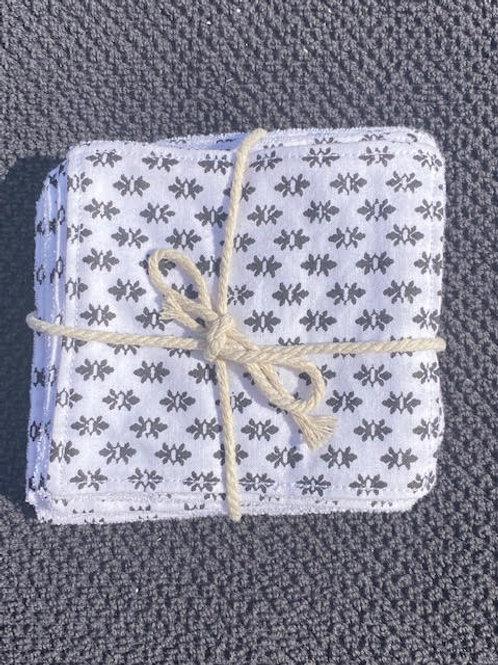 Coton démaquillant lavable et réutilisable - Zéro déchet - Aliss Nature