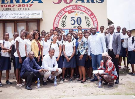 STEM DRC Initiative, Clarisse Falanga International Women Day