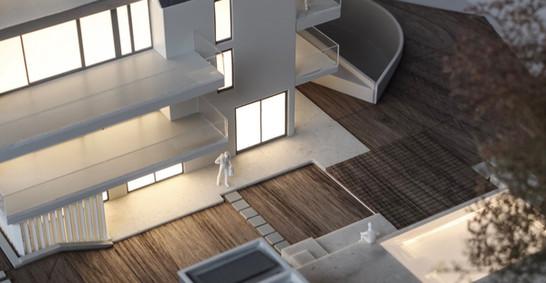 Wohnbauprojekt modell von Scala Matta Modellbau, Wien