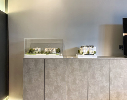 Immobilien Modell fur WINEGG Immobilien von Scala Matta Modelbau Studio, Wien