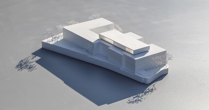 Wettbewerbsmodell von Scala Matta Modellbau, Wien