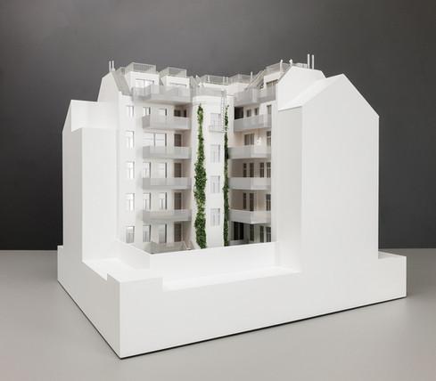 Modell des Immobilien Objektes von Scala Matta Modellbau