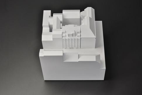 Verkaufsmodell, Weißmodell, Modell 1:200