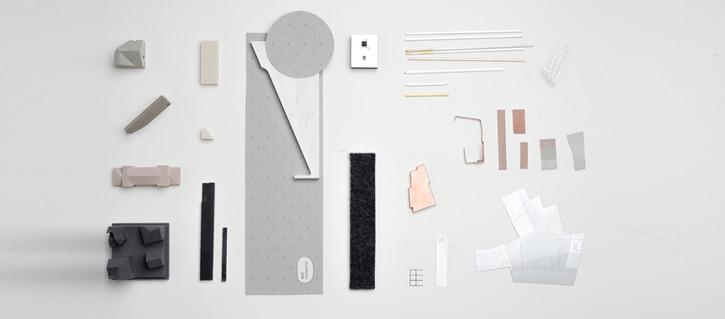 Wettbewerbsmodell moodboard von Scala Matta Modellbau Studio, Wien