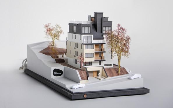 Immobilienmodell von Scala Matta Modellbau Studio