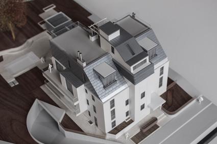 Wohnbauprojekt modell von Scala Matta Modellbau
