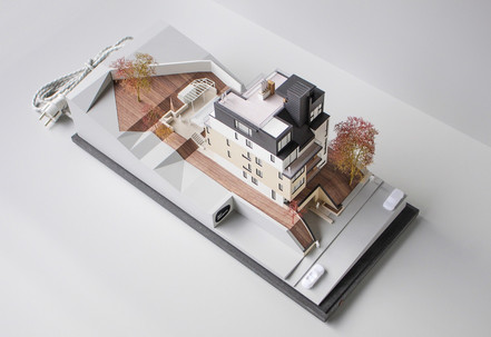 Immobilienmodell von Scala Matta Modellbau Studio, Wien