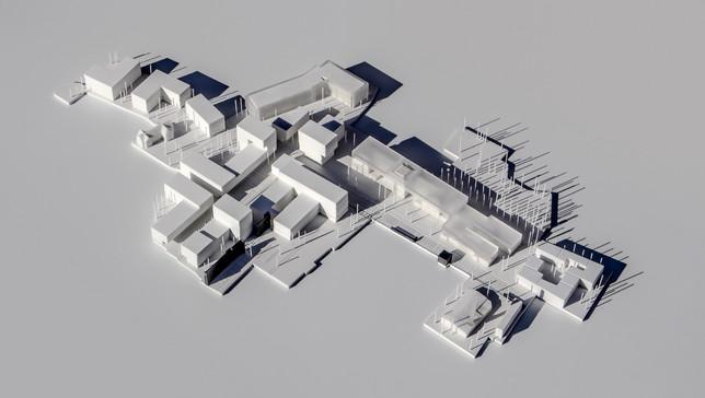 Architekturmodell von Scala Matta Modellbau