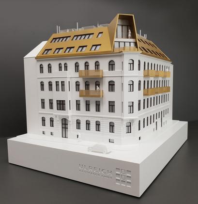 Modell des Immobilien Objektes von Scala Matta Modellbau Studio, Wien