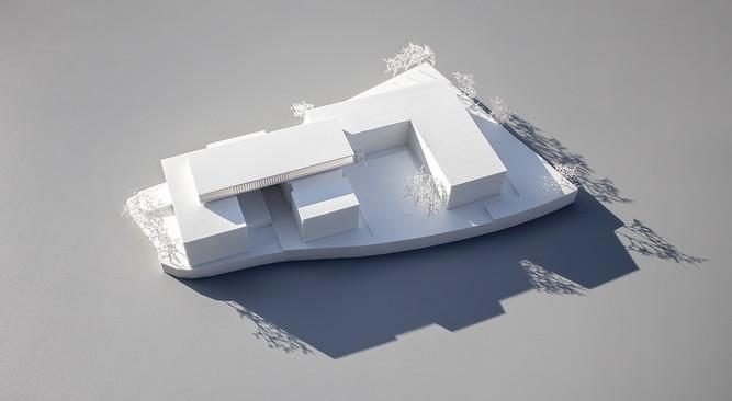 Wettbewerbsmodell von Scala Matta Modellbau Studio